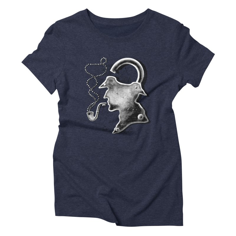 un-Sher-lock-ed Women's Triblend T-Shirt by Rejagalu's Artist Shop