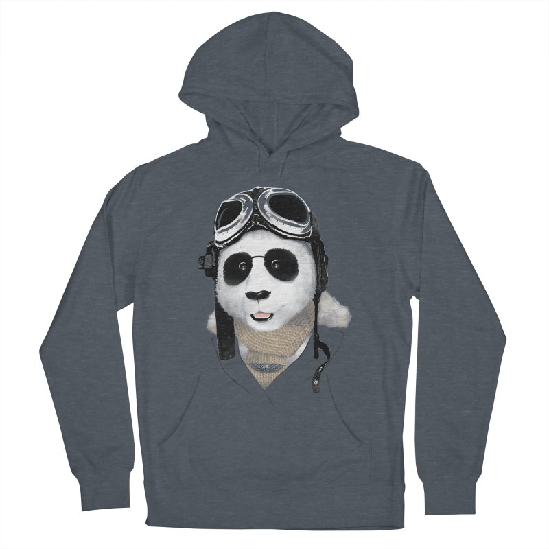 the aviator - born to fly Women's Pullover Hoody by Rejagalu's Artist Shop