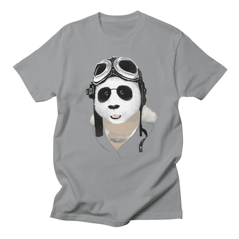 the aviator - born to fly Men's T-Shirt by Rejagalu's Artist Shop
