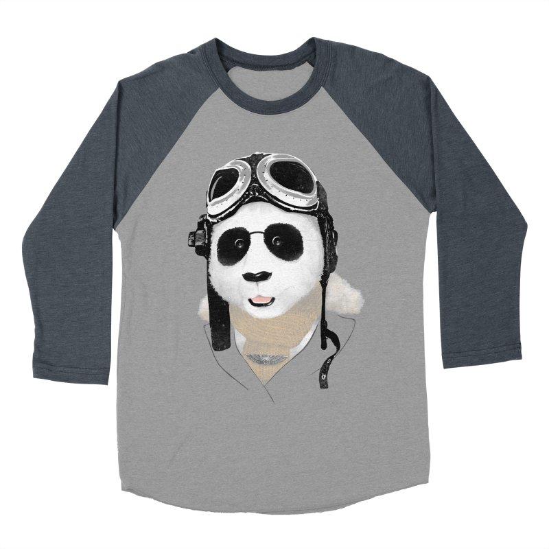 the aviator - born to fly Women's Baseball Triblend T-Shirt by Rejagalu's Artist Shop