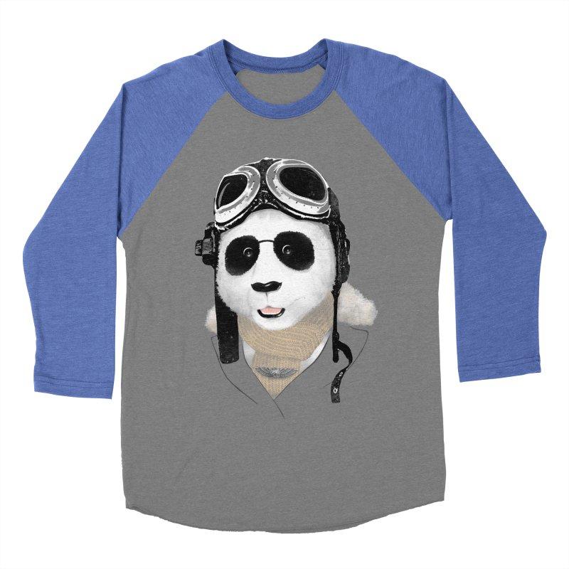 the aviator - born to fly Men's Baseball Triblend T-Shirt by Rejagalu's Artist Shop