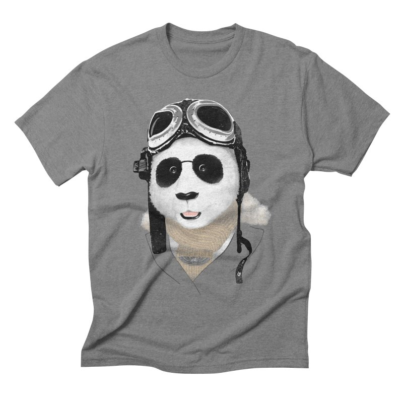 the aviator - born to fly Men's Triblend T-shirt by Rejagalu's Artist Shop
