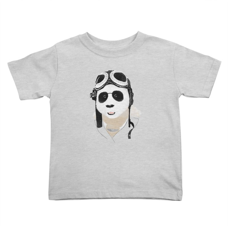 the aviator - born to fly Kids Toddler T-Shirt by Rejagalu's Artist Shop