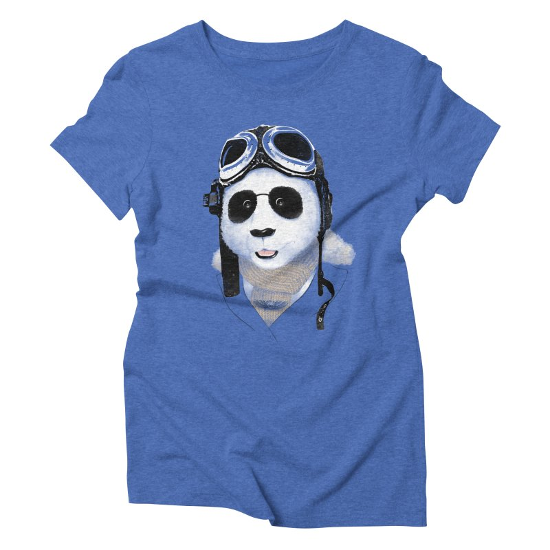 the aviator - born to fly Women's Triblend T-Shirt by Rejagalu's Artist Shop