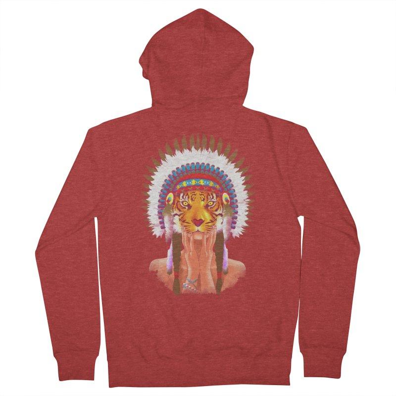Native American tigress   by Rejagalu's Artist Shop