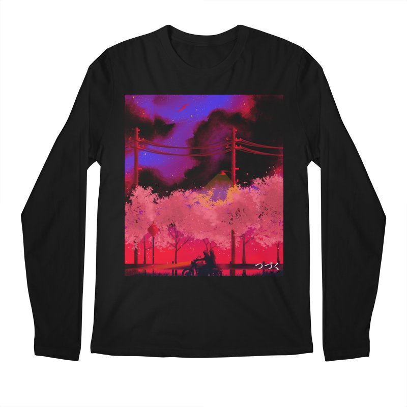 tsuzuku Men's Longsleeve T-Shirt by Rejagalu's Artist Shop