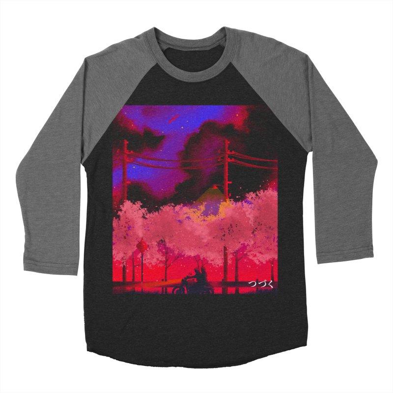 tsuzuku Women's Baseball Triblend T-Shirt by Rejagalu's Artist Shop