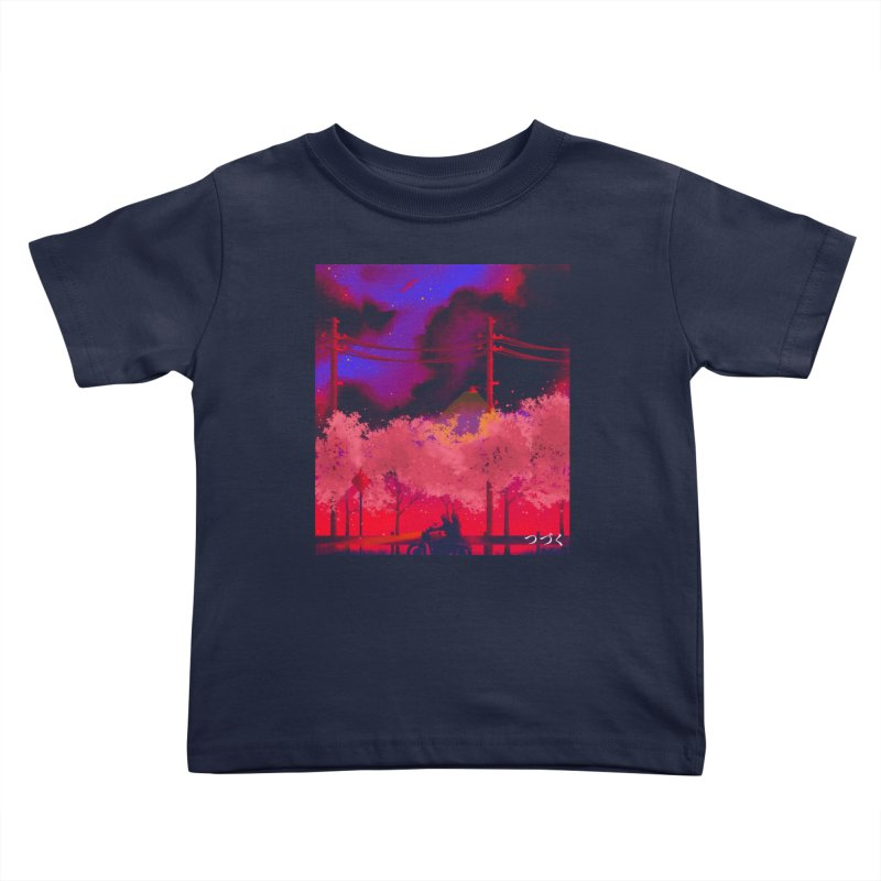 tsuzuku Kids Toddler T-Shirt by Rejagalu's Artist Shop