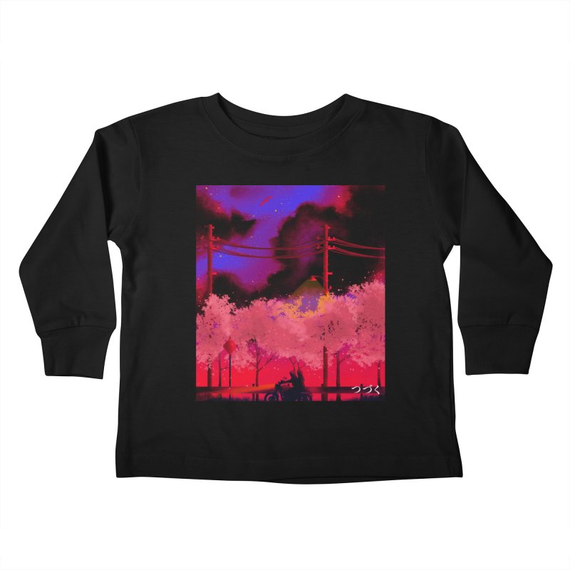 tsuzuku Kids Toddler Longsleeve T-Shirt by Rejagalu's Artist Shop