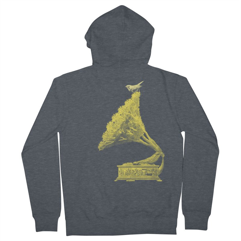 an old song by nature Men's Zip-Up Hoody by Rejagalu's Artist Shop