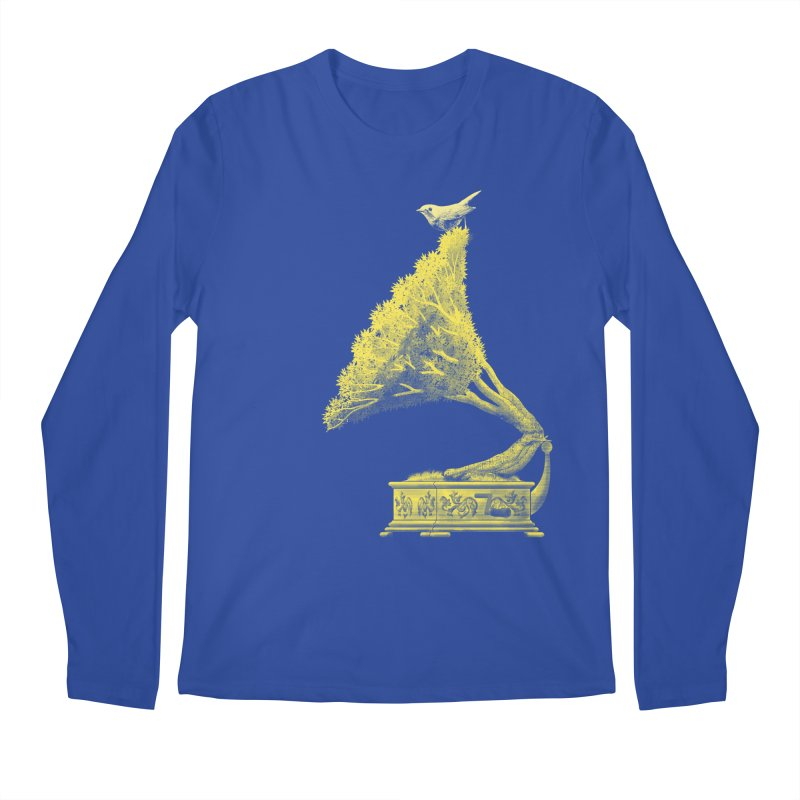 an old song by nature Men's Longsleeve T-Shirt by Rejagalu's Artist Shop