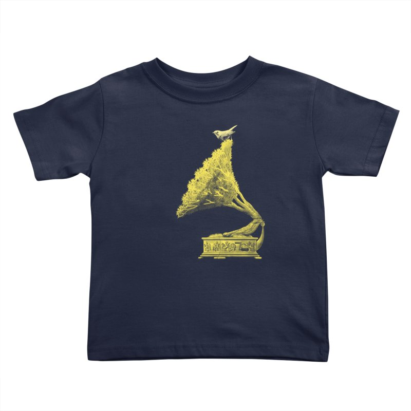 an old song by nature Kids Toddler T-Shirt by Rejagalu's Artist Shop