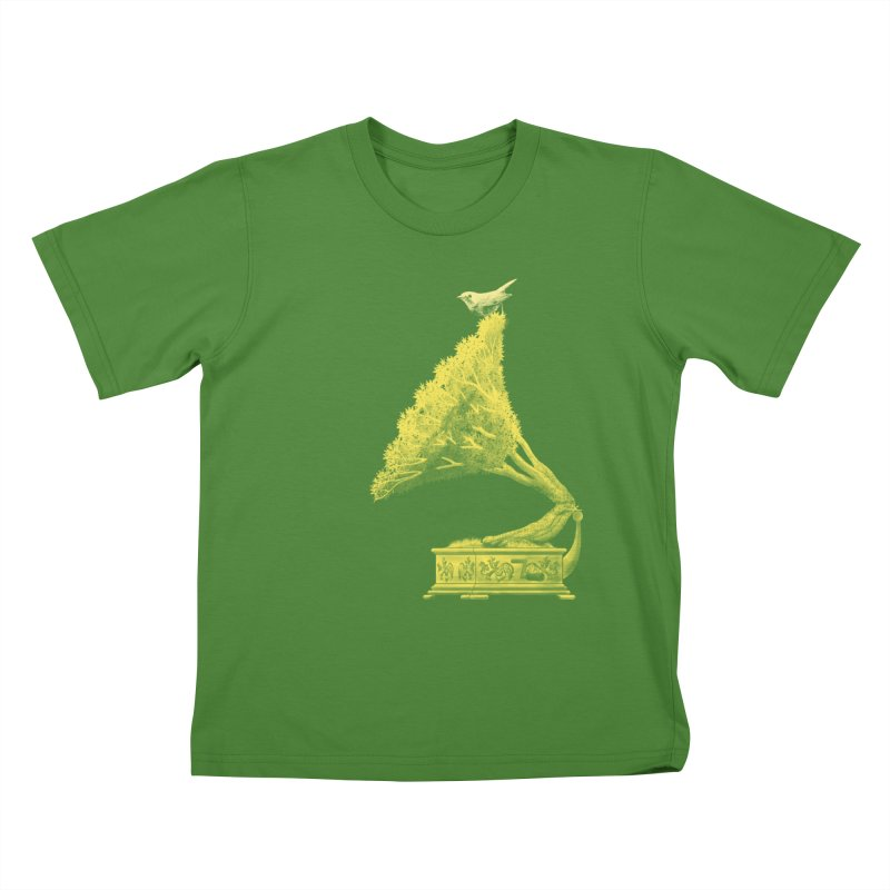 an old song by nature Kids T-Shirt by Rejagalu's Artist Shop