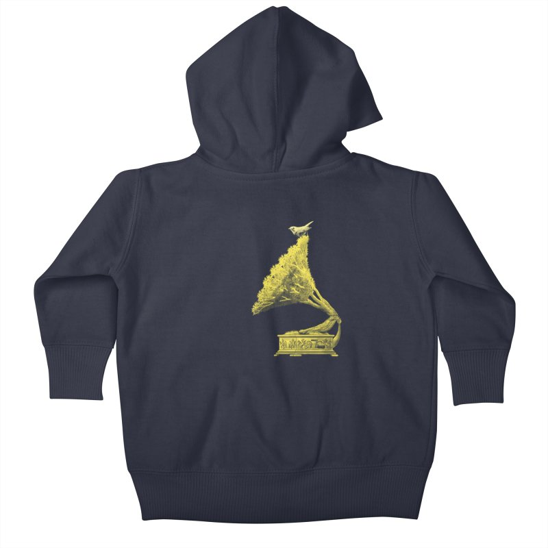 an old song by nature Kids Baby Zip-Up Hoody by Rejagalu's Artist Shop