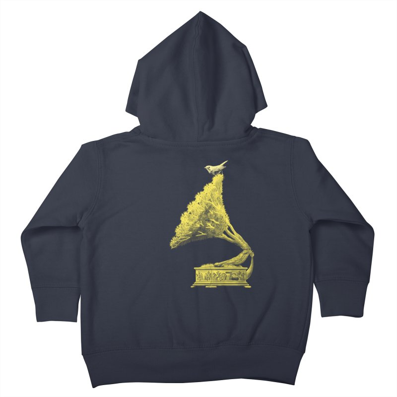 an old song by nature Kids Toddler Zip-Up Hoody by Rejagalu's Artist Shop