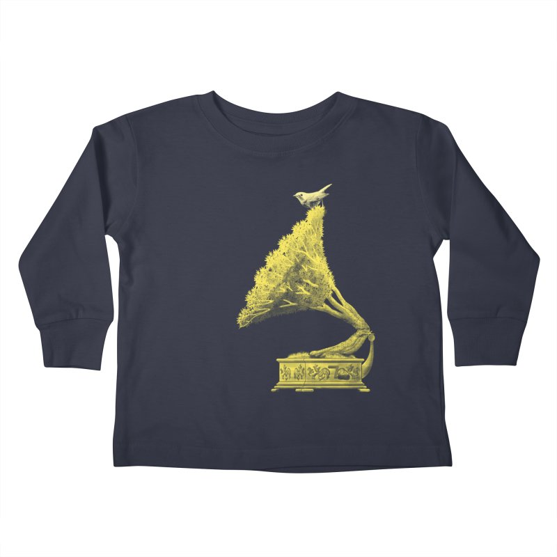 an old song by nature Kids Toddler Longsleeve T-Shirt by Rejagalu's Artist Shop