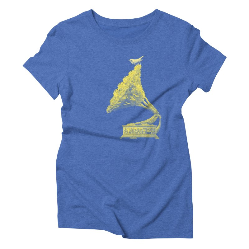 an old song by nature Women's Triblend T-shirt by Rejagalu's Artist Shop