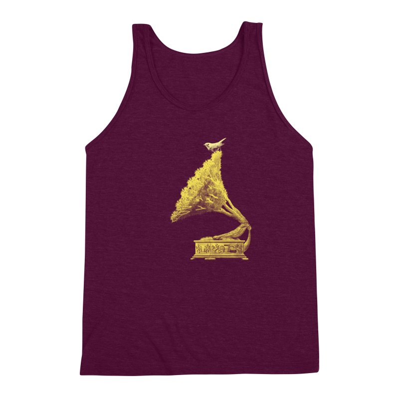 an old song by nature Men's Triblend Tank by Rejagalu's Artist Shop