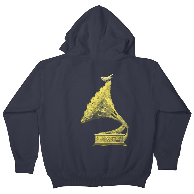 an old song by nature Kids Zip-Up Hoody by Rejagalu's Artist Shop