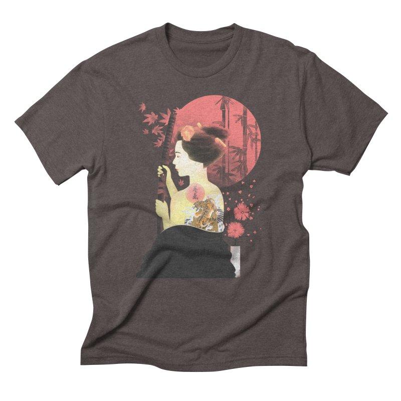 eiki Men's Triblend T-Shirt by Rejagalu's Artist Shop
