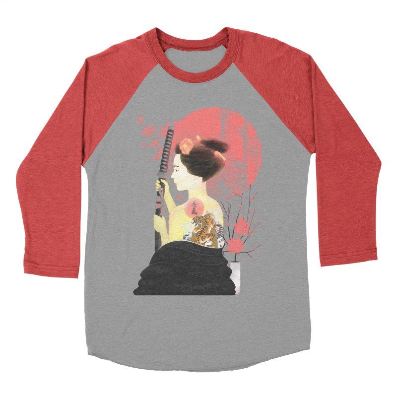 eiki Women's Baseball Triblend T-Shirt by Rejagalu's Artist Shop