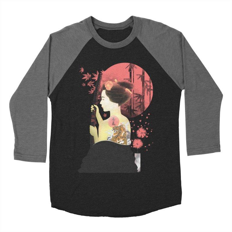 eiki Men's Baseball Triblend T-Shirt by Rejagalu's Artist Shop