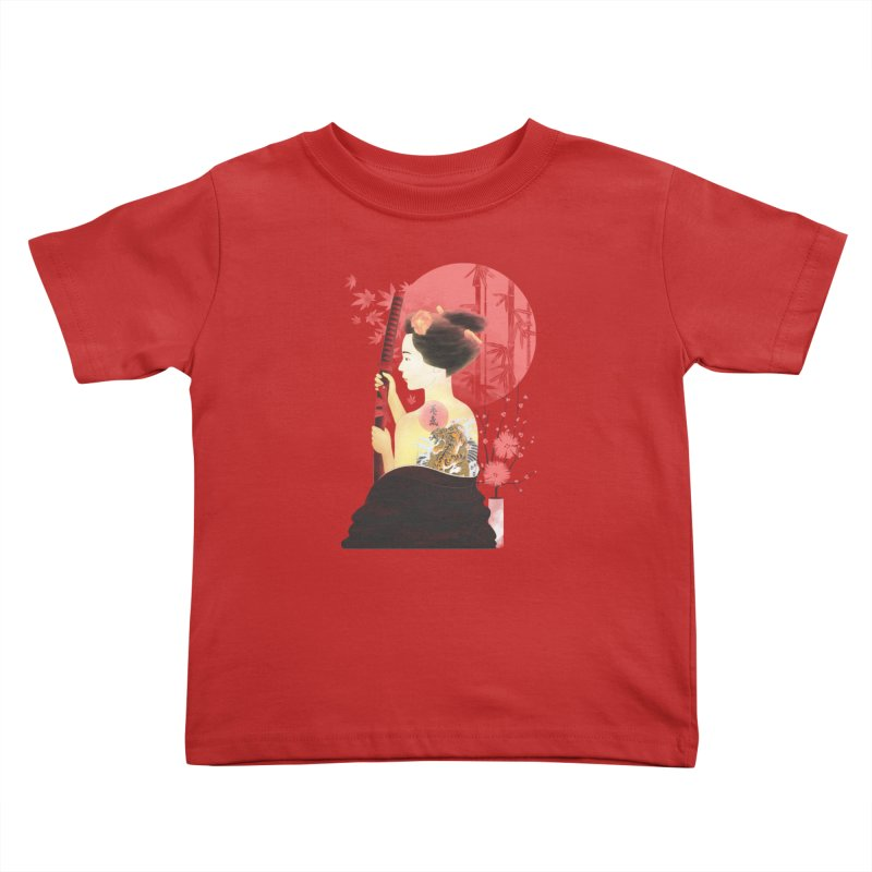 eiki Kids Toddler T-Shirt by Rejagalu's Artist Shop