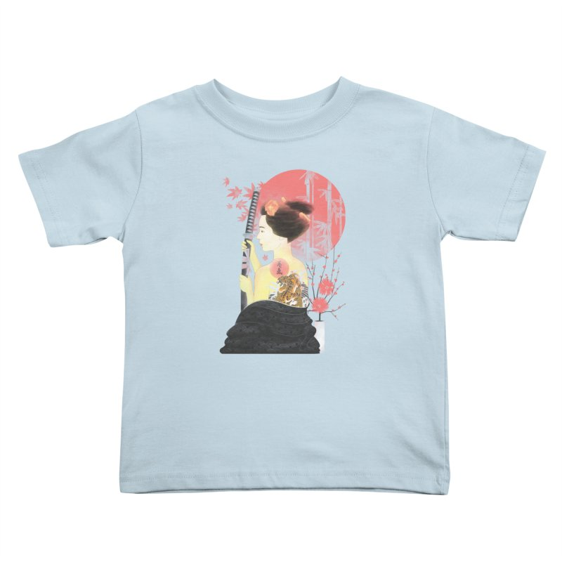 eiki Kids Toddler T-Shirt by Rejagalu's Artist Shop