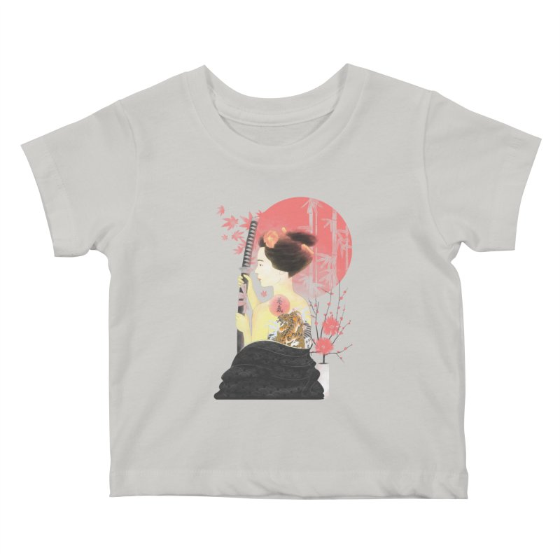 eiki Kids Baby T-Shirt by Rejagalu's Artist Shop