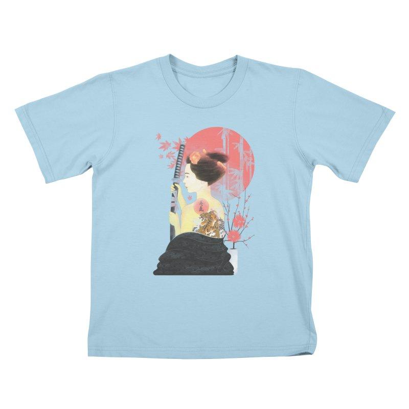 eiki Kids T-Shirt by Rejagalu's Artist Shop