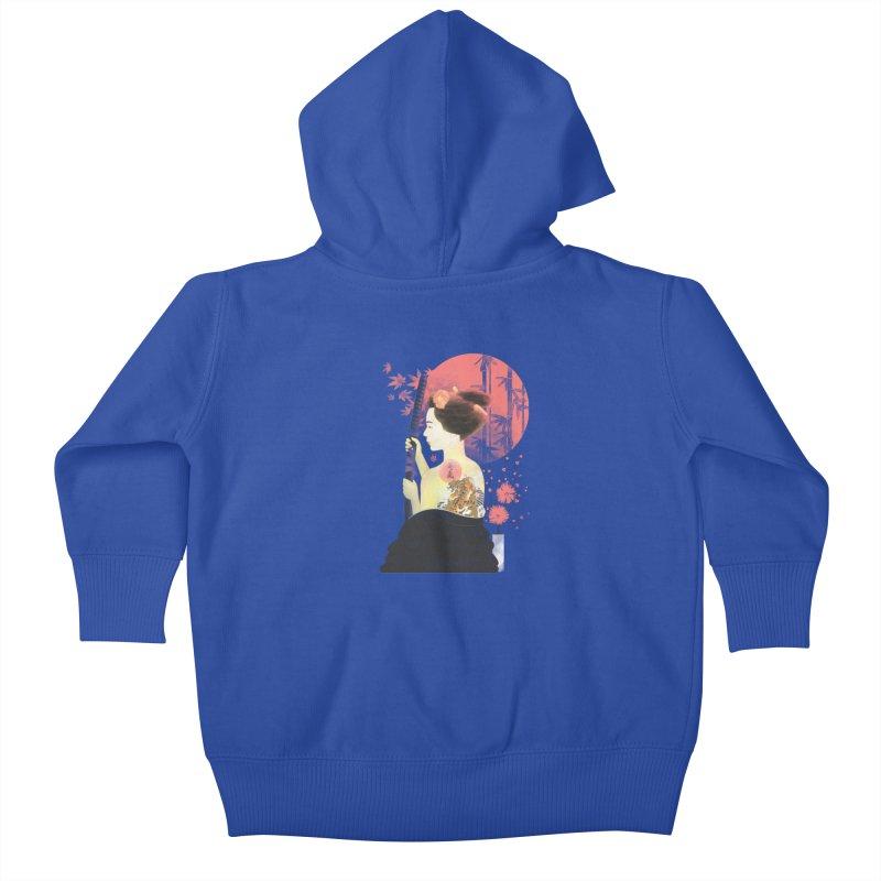 eiki Kids Baby Zip-Up Hoody by Rejagalu's Artist Shop