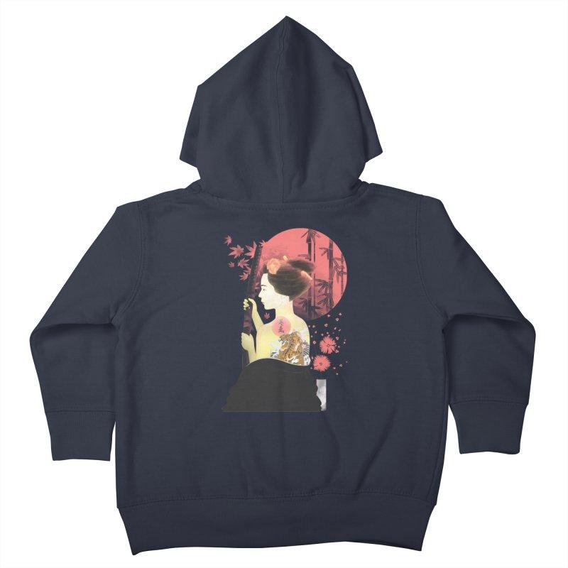 eiki Kids Toddler Zip-Up Hoody by Rejagalu's Artist Shop