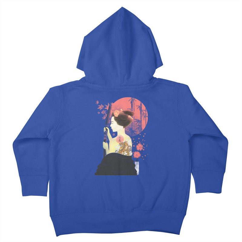 eiki Kids Toddler Zip-Up Hoody by Rejagalu's Artist Shop