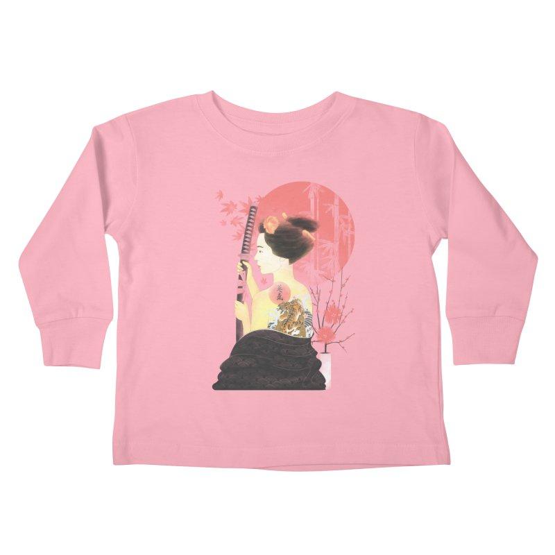 eiki Kids Toddler Longsleeve T-Shirt by Rejagalu's Artist Shop