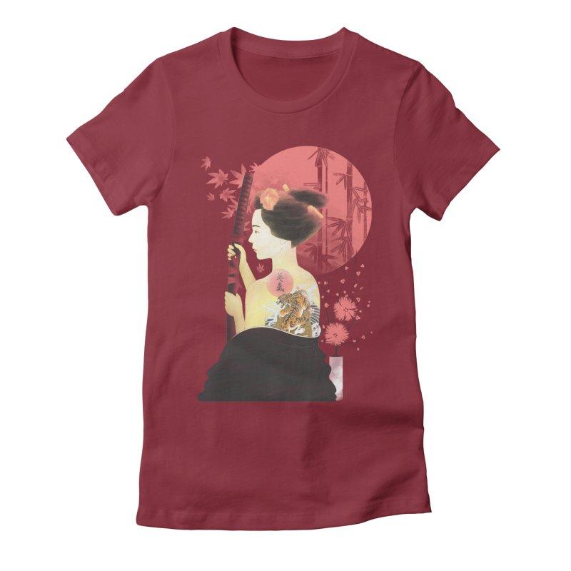 eiki Women's Fitted T-Shirt by Rejagalu's Artist Shop