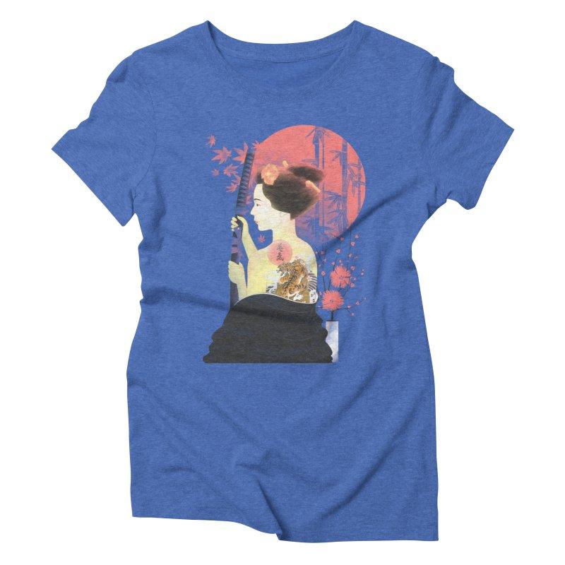 eiki Women's Triblend T-shirt by Rejagalu's Artist Shop