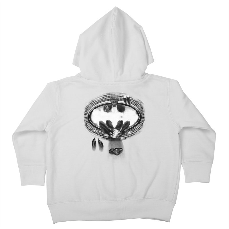 Bath-man - the dark knight rinses Kids Toddler Zip-Up Hoody by Rejagalu's Artist Shop