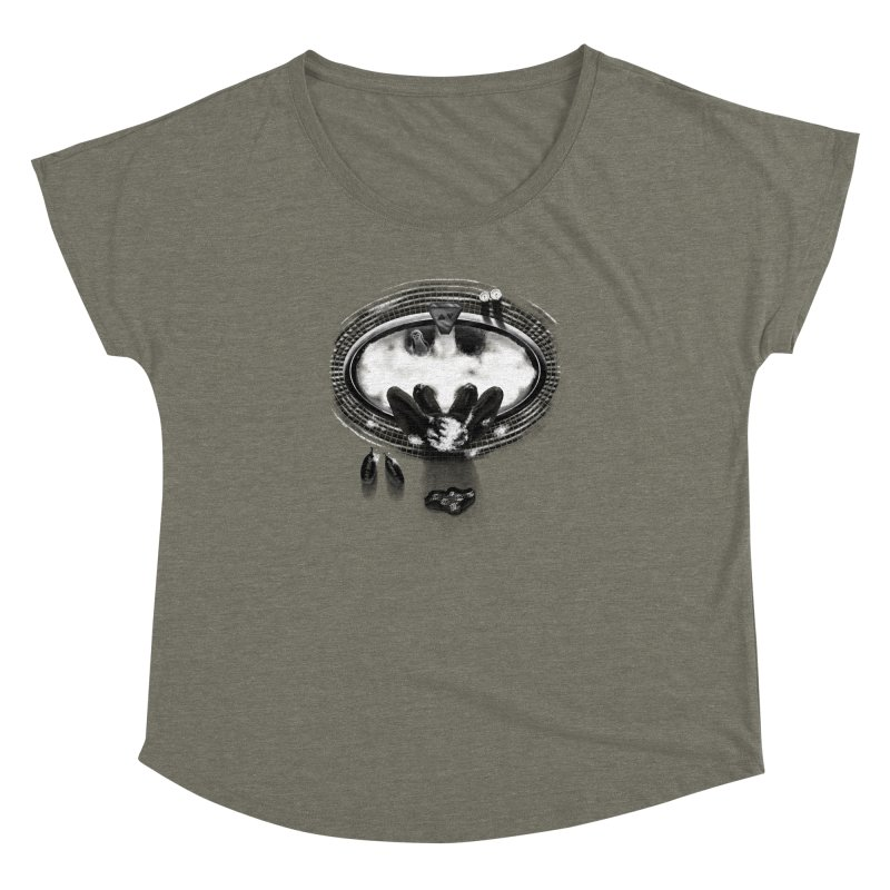 Bath-man - the dark knight rinses Women's Dolman by Rejagalu's Artist Shop
