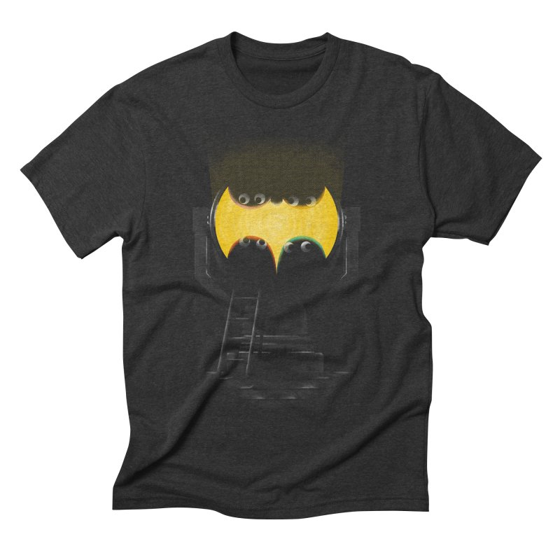 the squad calling for the bat Men's Triblend T-shirt by Rejagalu's Artist Shop