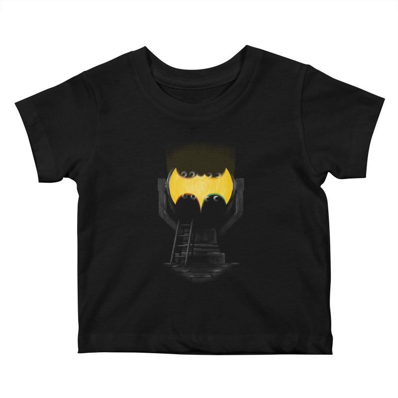 the squad calling for the bat Kids Baby T-Shirt by Rejagalu's Artist Shop