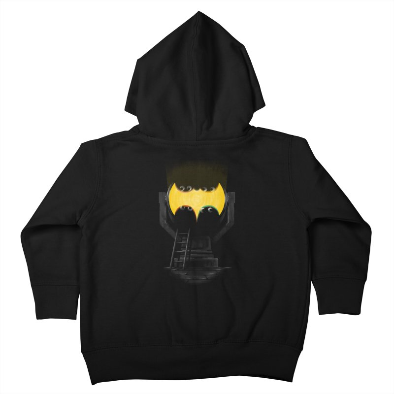 the squad calling for the bat Kids Toddler Zip-Up Hoody by Rejagalu's Artist Shop
