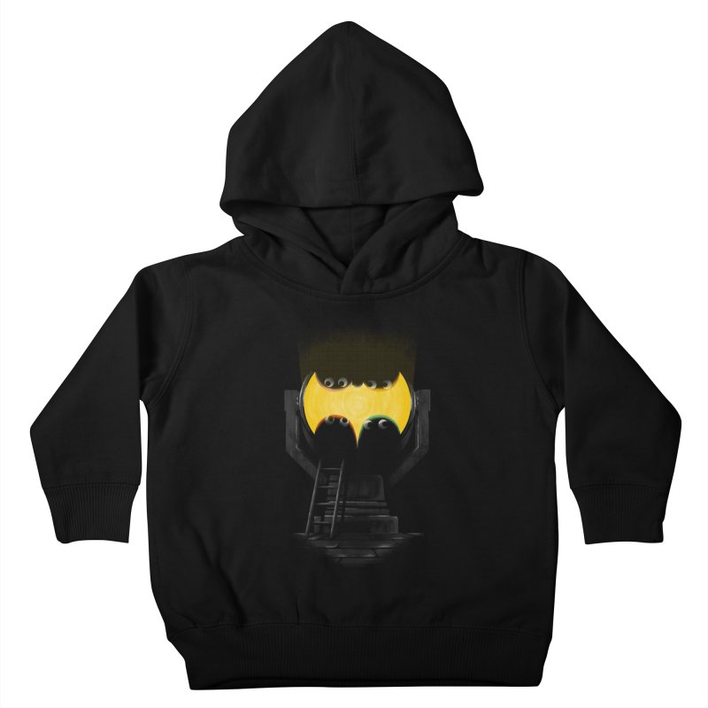 the squad calling for the bat Kids Toddler Pullover Hoody by Rejagalu's Artist Shop