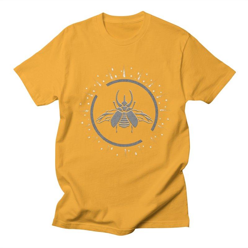 Horned Atlus  Men's T-shirt by Relkcruts's Artist Shop