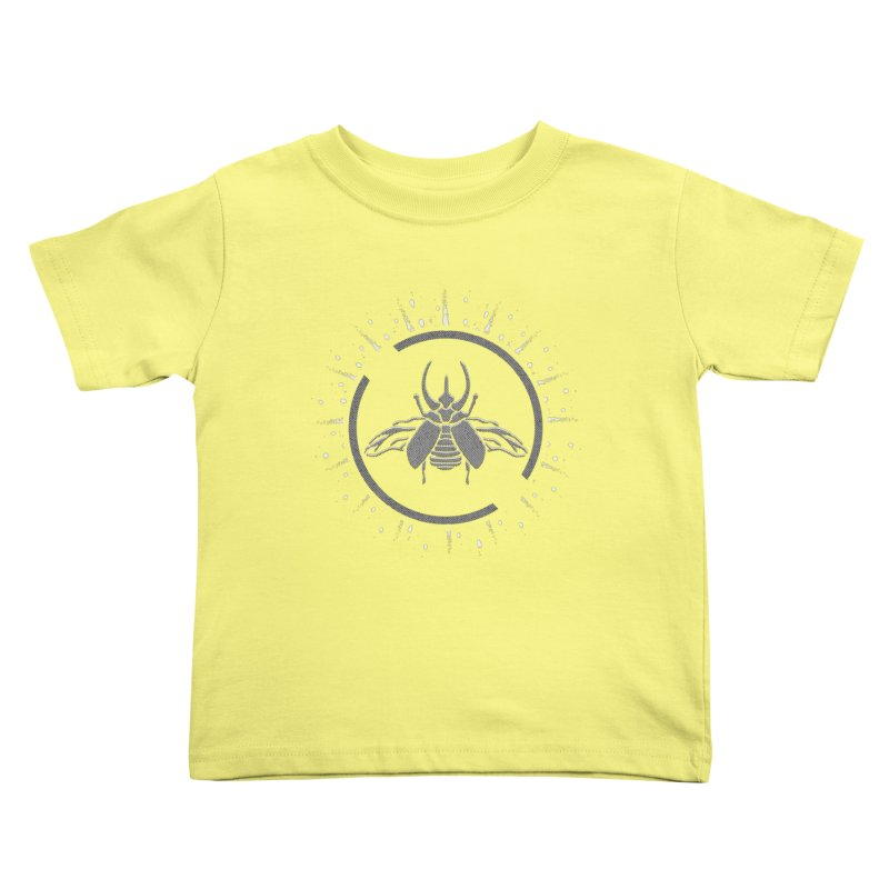 Horned Atlus  Kids Toddler T-Shirt by Relkcruts's Artist Shop