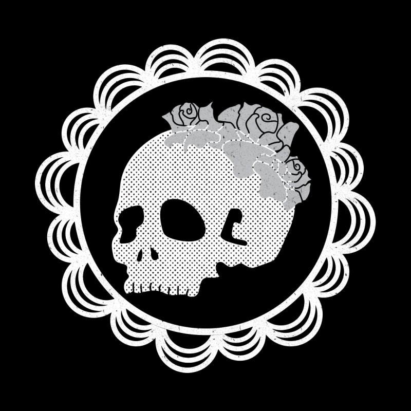 Skull & Roses None  by Relkcruts's Artist Shop