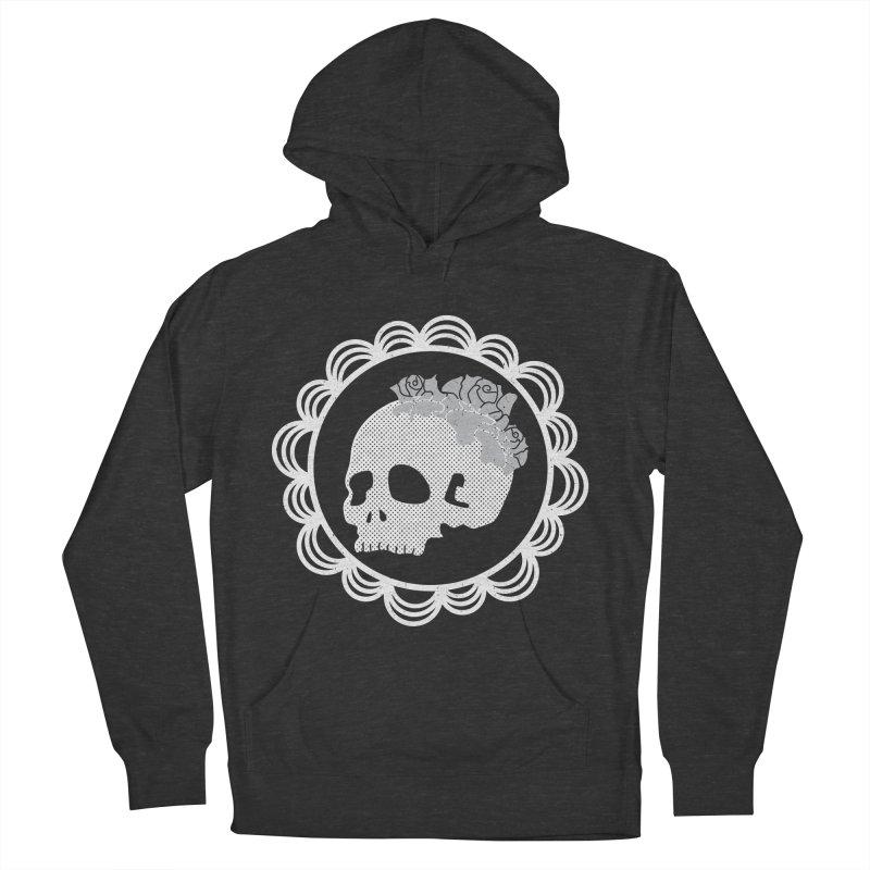 Skull & Roses Women's Pullover Hoody by Relkcruts's Artist Shop