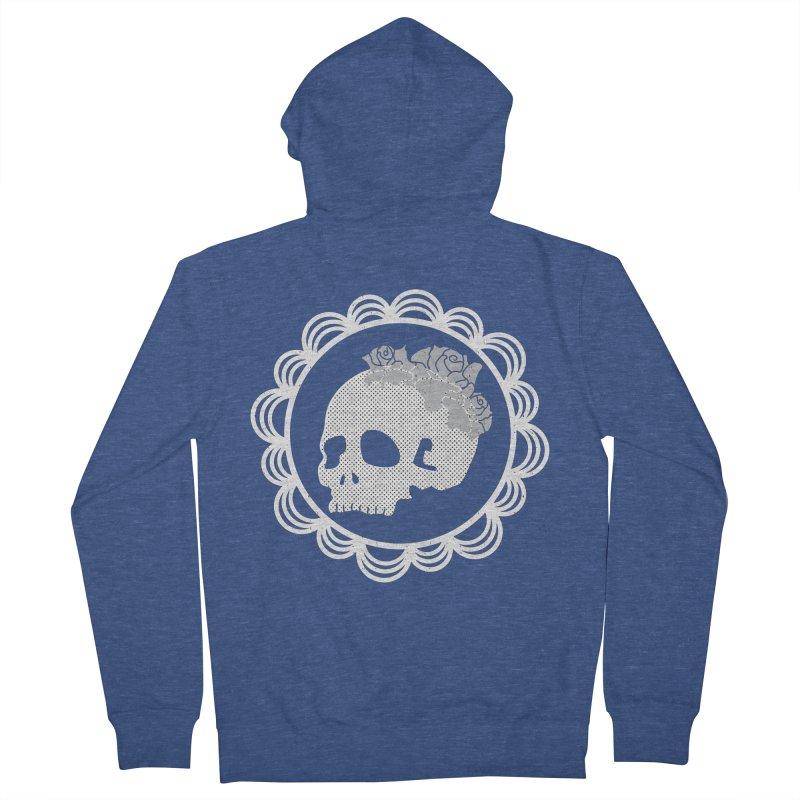Skull & Roses Women's Zip-Up Hoody by Relkcruts's Artist Shop
