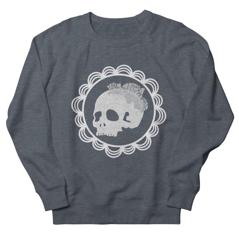 Skull & Roses Women's Sweatshirt by Relkcruts's Artist Shop