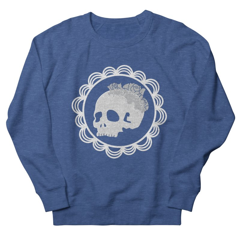 Skull & Roses Men's Sweatshirt by Relkcruts's Artist Shop