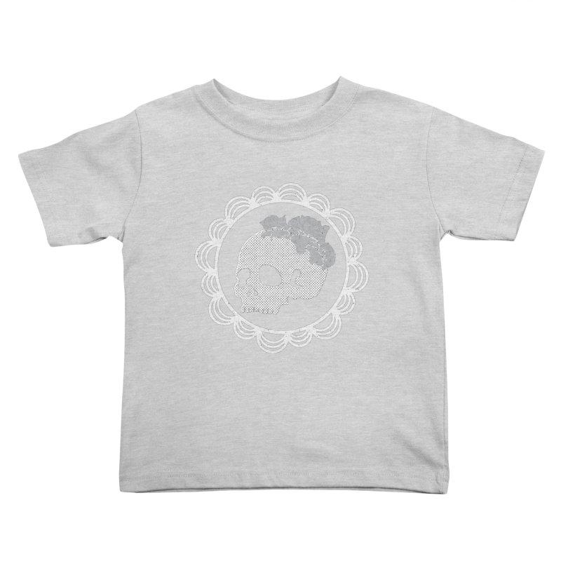 Skull & Roses Kids Toddler T-Shirt by Relkcruts's Artist Shop